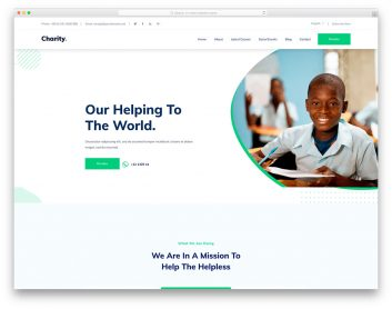 Nonprofit organizations provide a vast array of necessary goods and services to local citizens. 30 Best Charity Non Profit Website Templates 2021 Colorlib