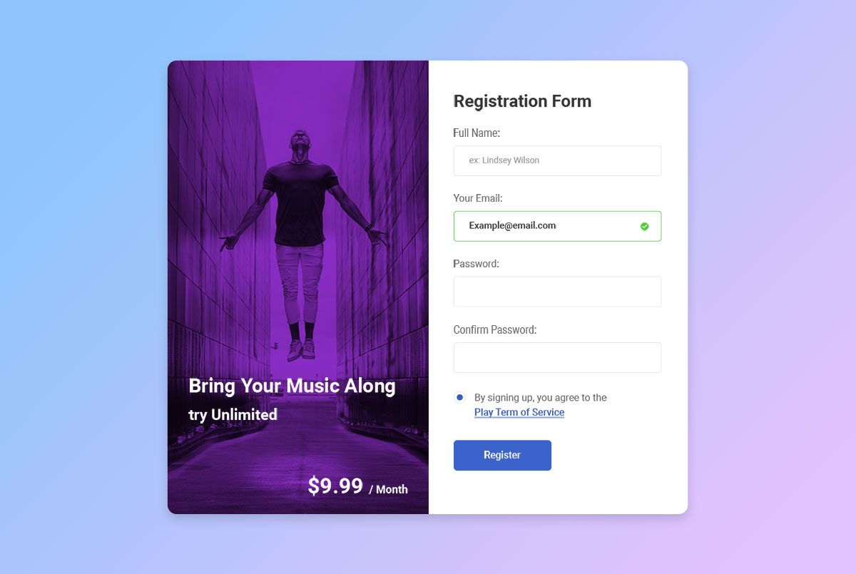 Using an email sign up sheet template is the assurance that all the information. 55 Best Free Bootstrap Registration Forms All Sites 2021 Colorlib