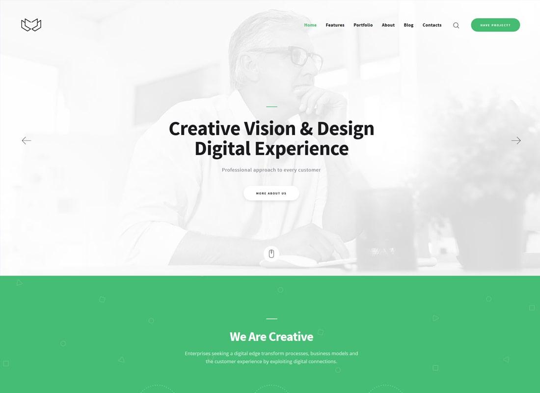 Deviox | Un tema moderno de WordPress para negocios multipropósito