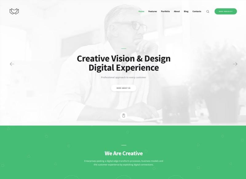 Deviox   Un tema moderno de WordPress para negocios multipropósito