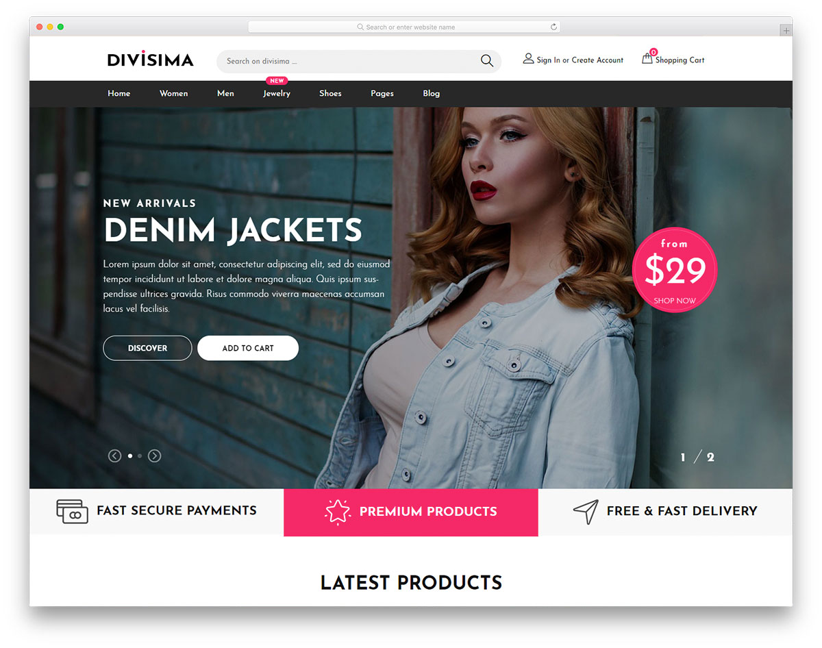 For this free template, we used the bootstrap framework to give you a responsive shopping cart app you can enhance your projects with. 61 Free Bootstrap Ecommerce Website Templates 2021 Colorlib