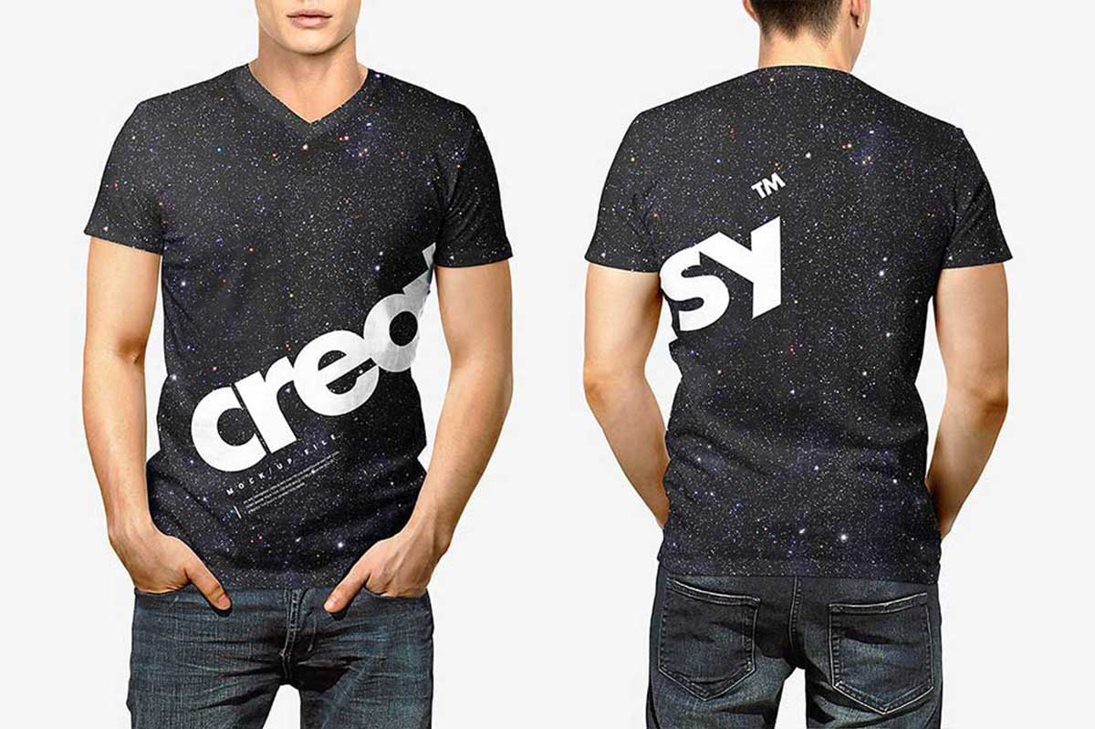 Download free graphic resources for t shirt mockup back. 39 Awesome Black T Shirt Mockups For Your Apparel Business Colorlib