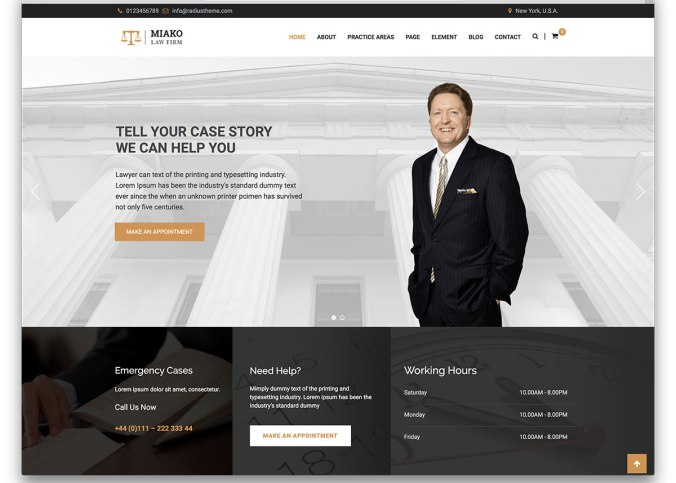 41 Best Lawyer Wordpress Themes For Law Firms And