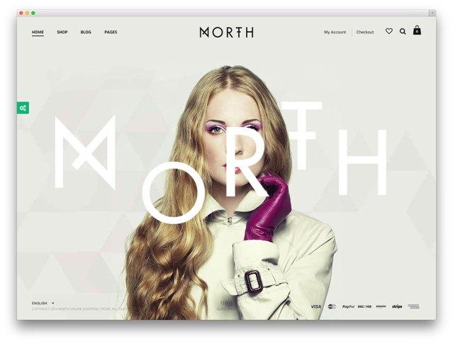 north - awesome multipurpose woocommerce theme