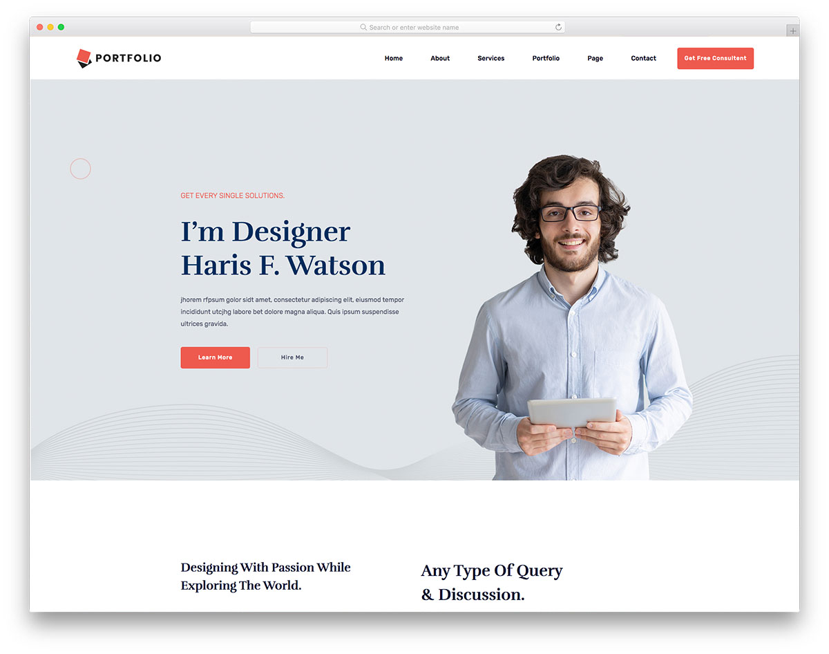 Free website templates we have about (2,510) free website templates sort by newest first in (1/84) pages. 30 Free Personal Website Templates To Boost Your Brand 2021 Colorlib