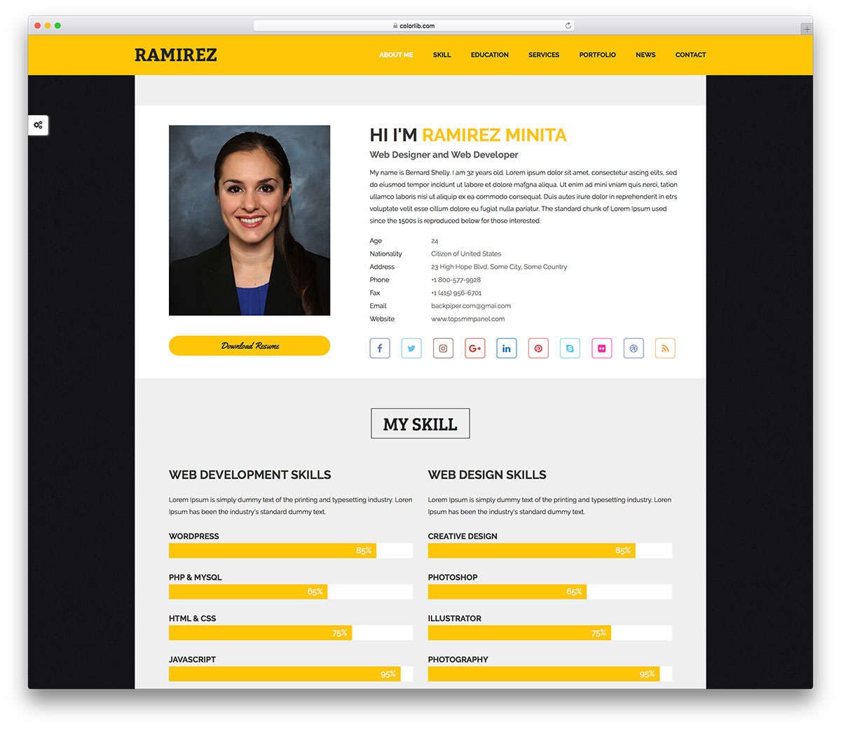 By spending a few minutes you can set up a website with these templates. 30 Free Personal Website Templates To Boost Your Brand 2021 Colorlib