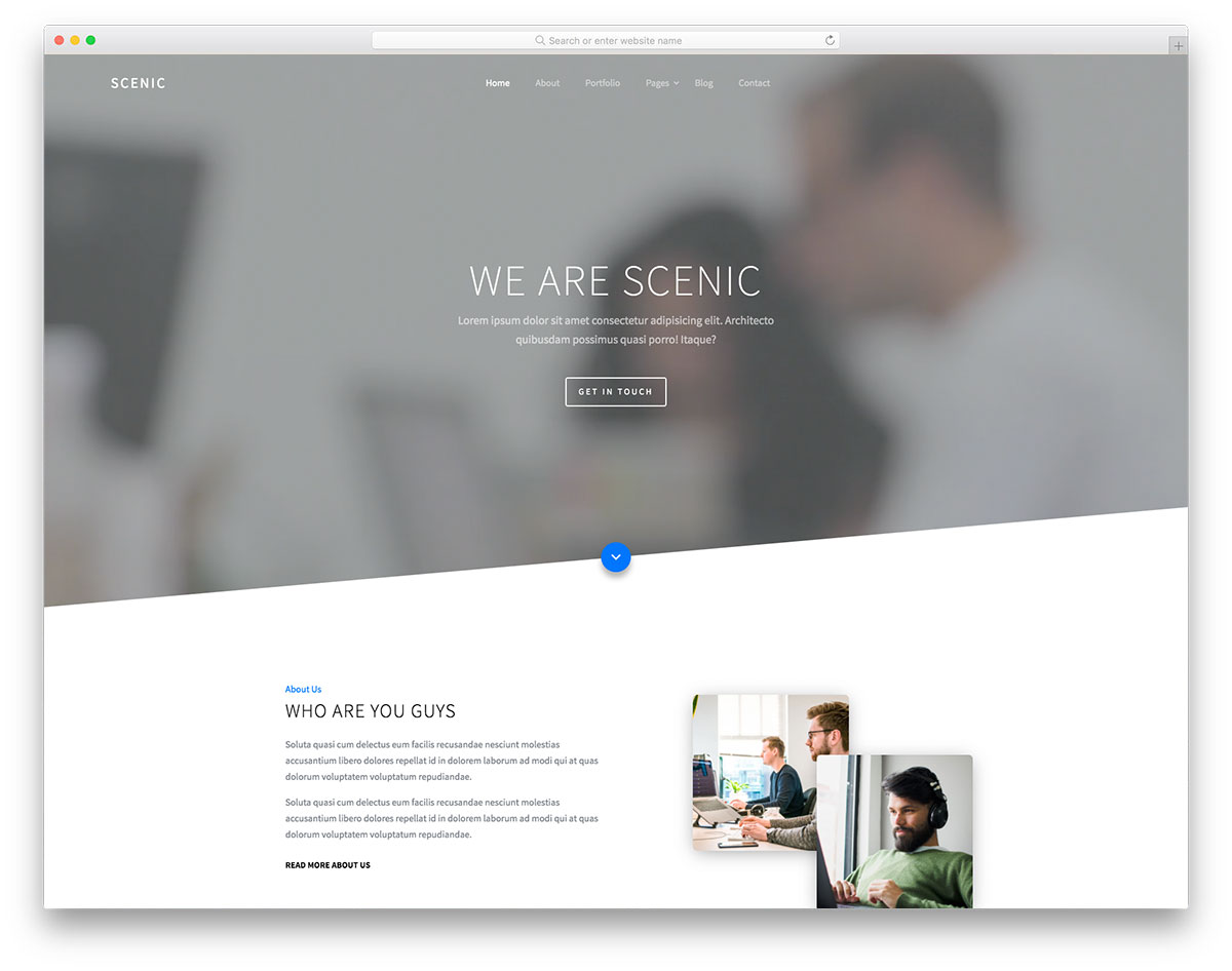 To top it off, canva's free website templates come with responsive design features so it looks good on desktop or mobile. 147 Free Simple Website Templates Based On Html Css 2021 Colorlib