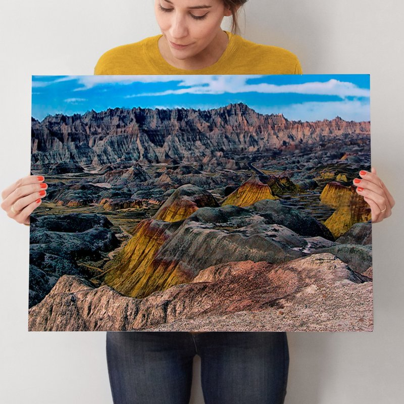 National Park Art - Badlands