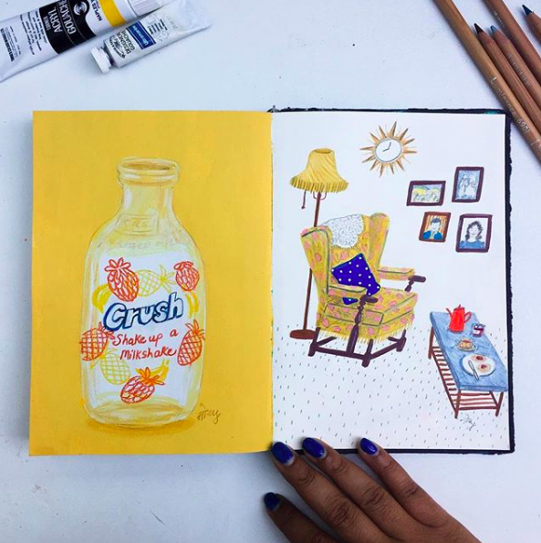 My Favorite Colored Pencil Drawings