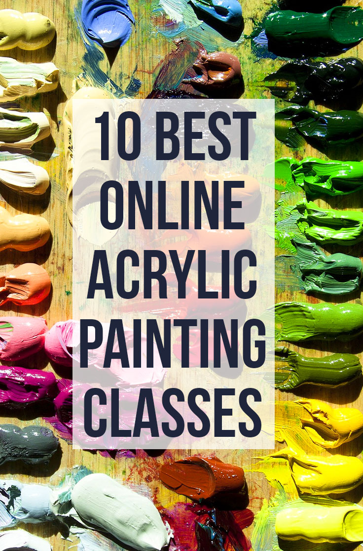 Learn to Paint with Acrylics: Acrylic Painting for Beginners Tutorials & Classes