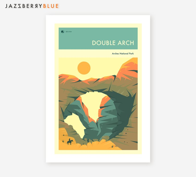 National Park Prints - Arches