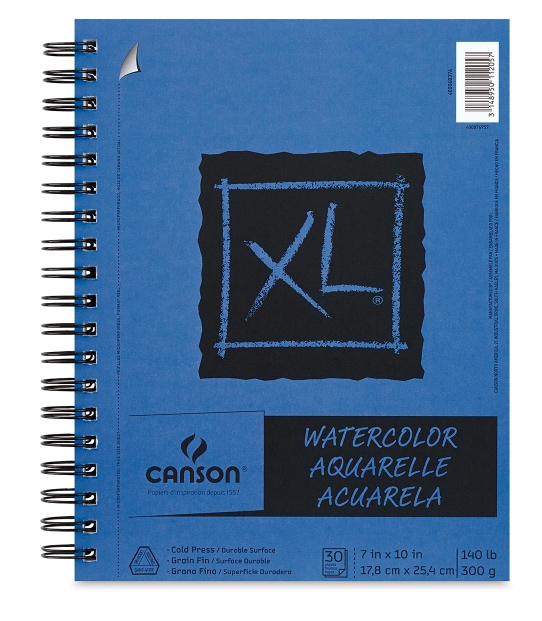 Best Watercolor Paper & Watercolor Sketchbooks for Artists & Beginners: canson watercolor paper