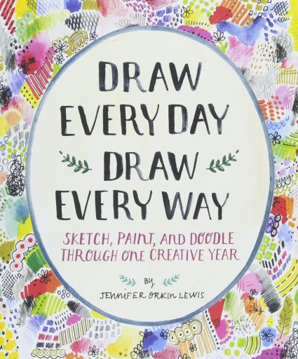 10 Fun Gifts for Artists: draw every day