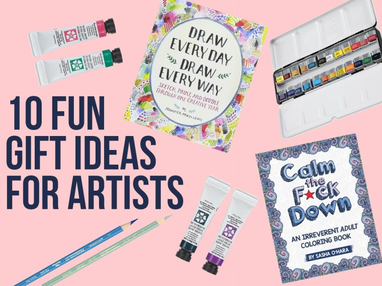 10 Fun Gifts for Artists