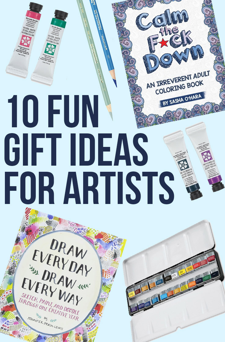 10 Fun Gifts for Artists: birthday and holiday presents for the artist in your life