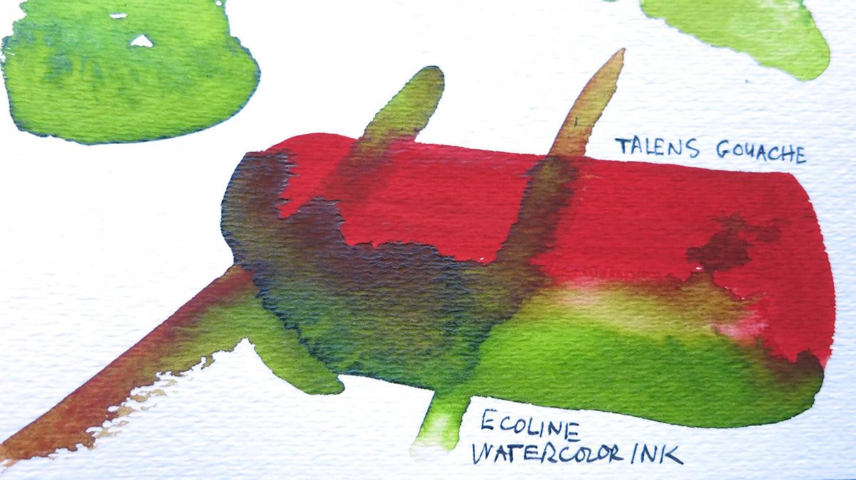 Compare Watercolor vs Gouache vs Liquid Watercolor