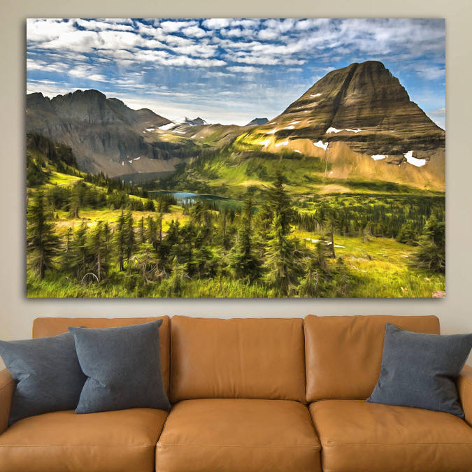 National Park Canvas Prints