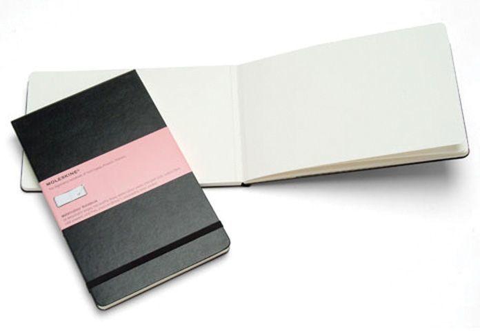 10 Fun Gifts for Artists: Moleskine sketchbook
