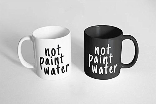 10 Fun Gifts for Artists: not paint water mugs