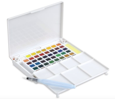 Best Watercolor Paint Brands for Artists& Beginners, find best prices for watercolor paints: Sakura Koi watercolor set
