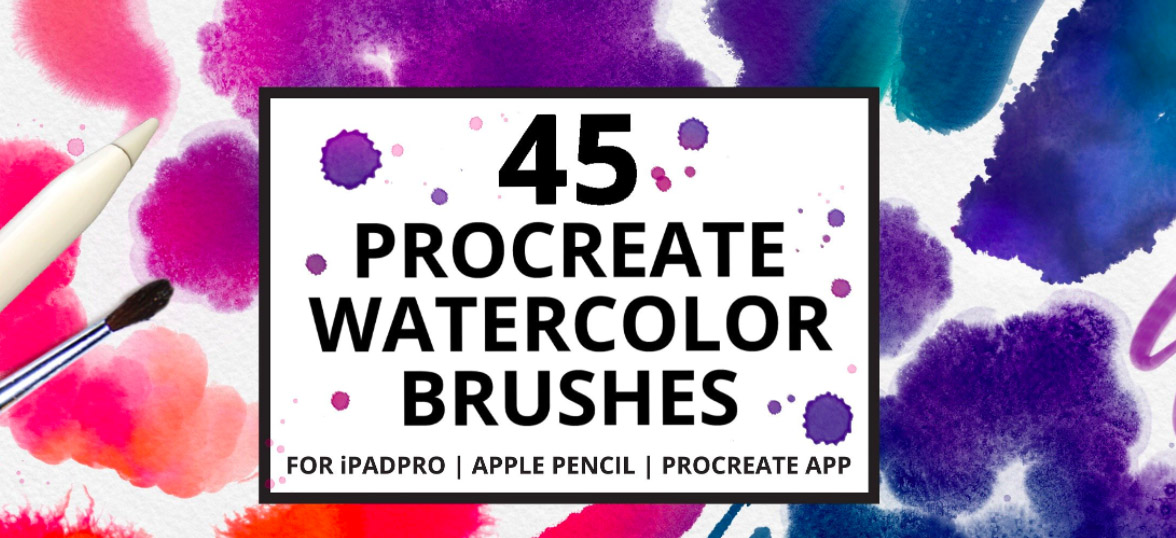 How to Use Procreate iPad Pro: Tips & Tricks for Using Procreate for iPad: Procreate Brushes