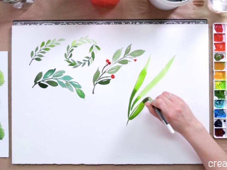 Best Online Watercolor Classes: Watercolor for Beginners