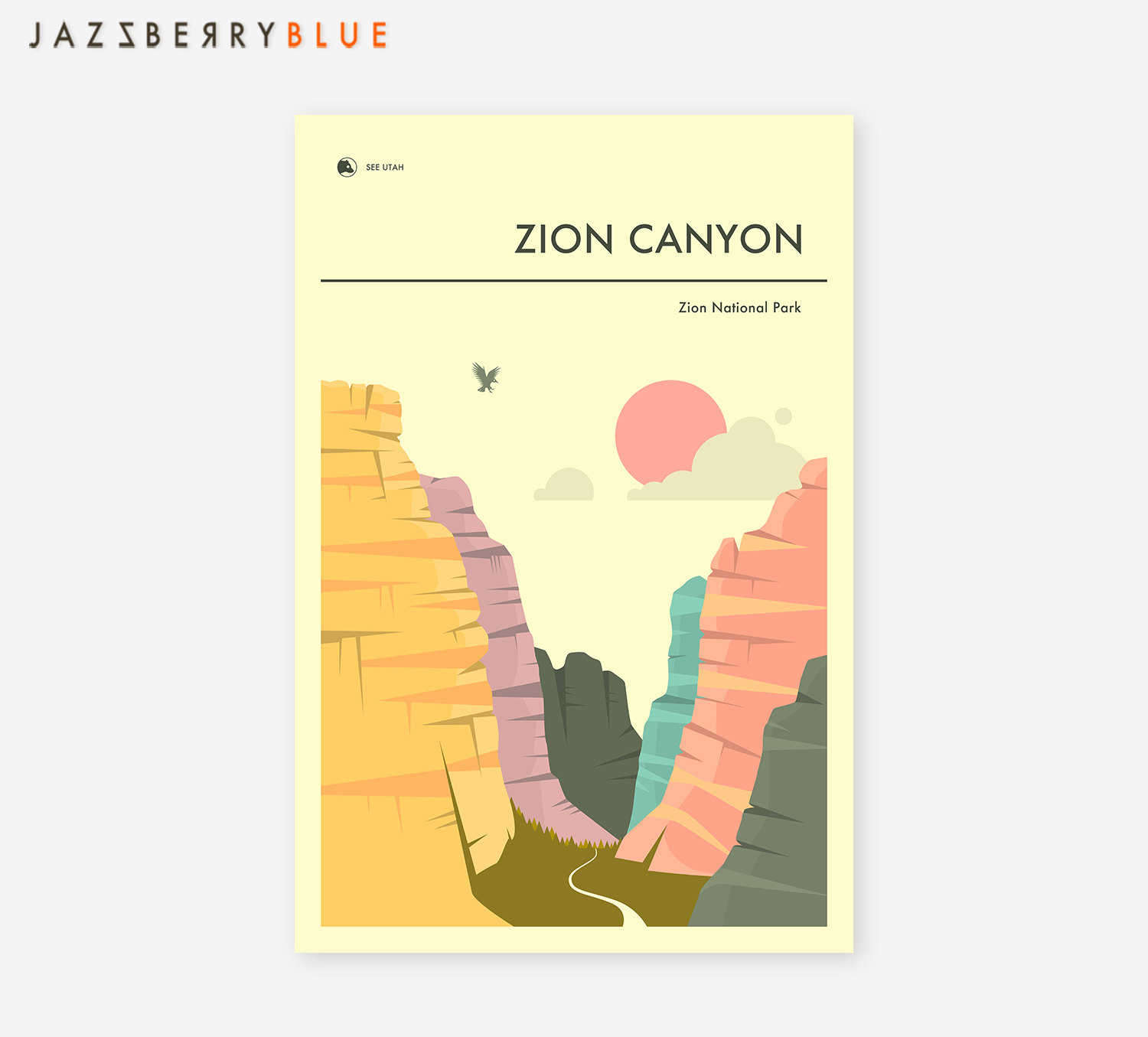 National Park Prints - Zion