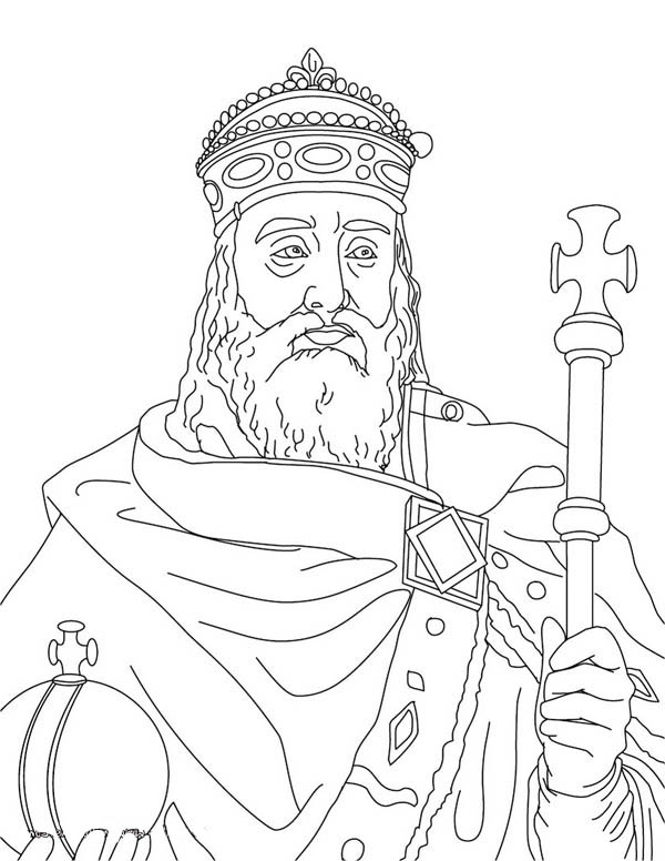 Charlemagne middle ages coloring page color luna, jesus loves me coloring page