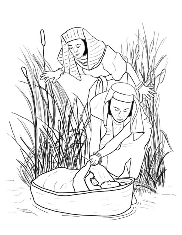 nile river  free coloring pages