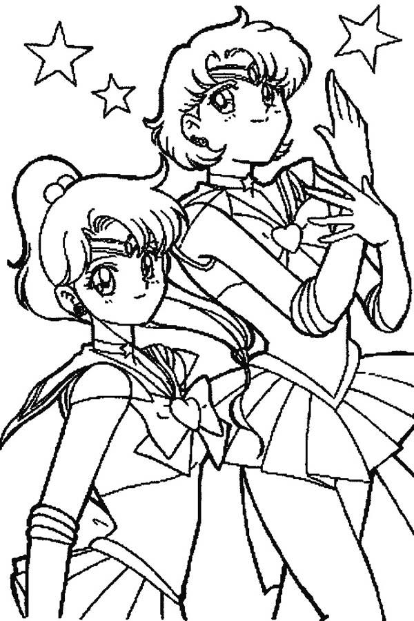 Sailor Mercury Coloring Pages
