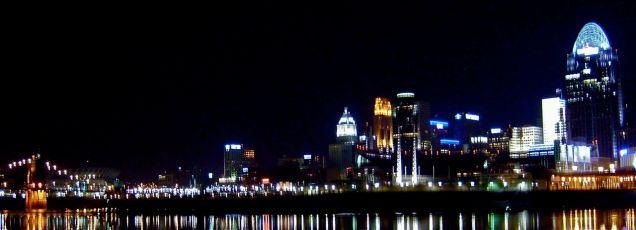 Cincinnati on the Ohio River