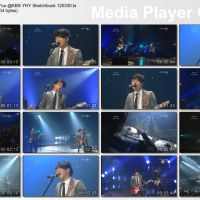 [Vid] 120330 CNBLUE - One Time, IMH, Talk, Hey You @ YHY Sketchbook [ENG SUBS]