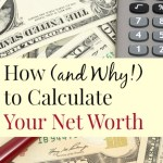 How (and Why!) to Calculate Your Net Worth