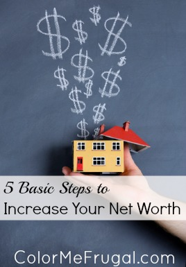 5 Basic Steps to Increase Your Net Worth