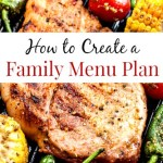 How to Create a Family Menu Plan