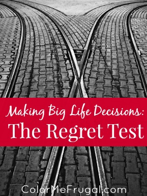 The Regret Test