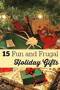 Fun and Frugal Holiday Gifts
