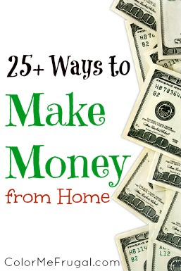 25 Easy Ways to Make Money from Home