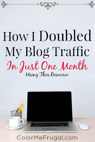 How I Doubled My Blog Traffic in Just One Month
