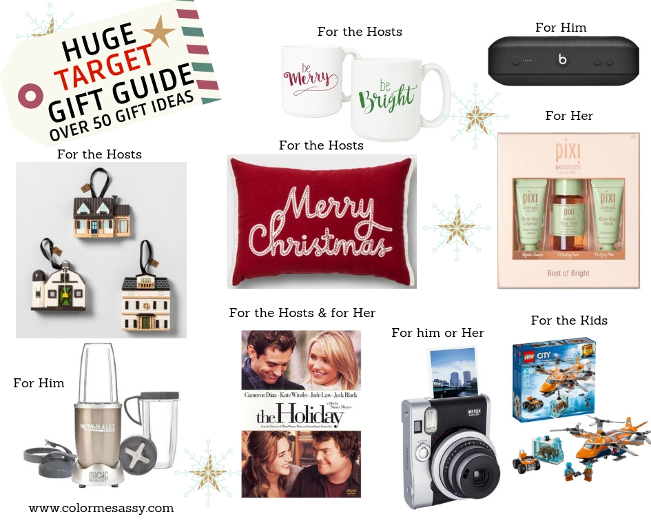 HUGE TARGET HOLIDAY Gift Guide - Color Me Sassy a875c255ed474