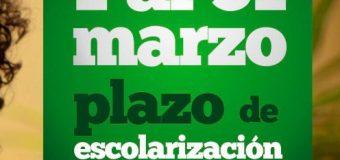 PLAZO DE ESCOLARIZACIÓN