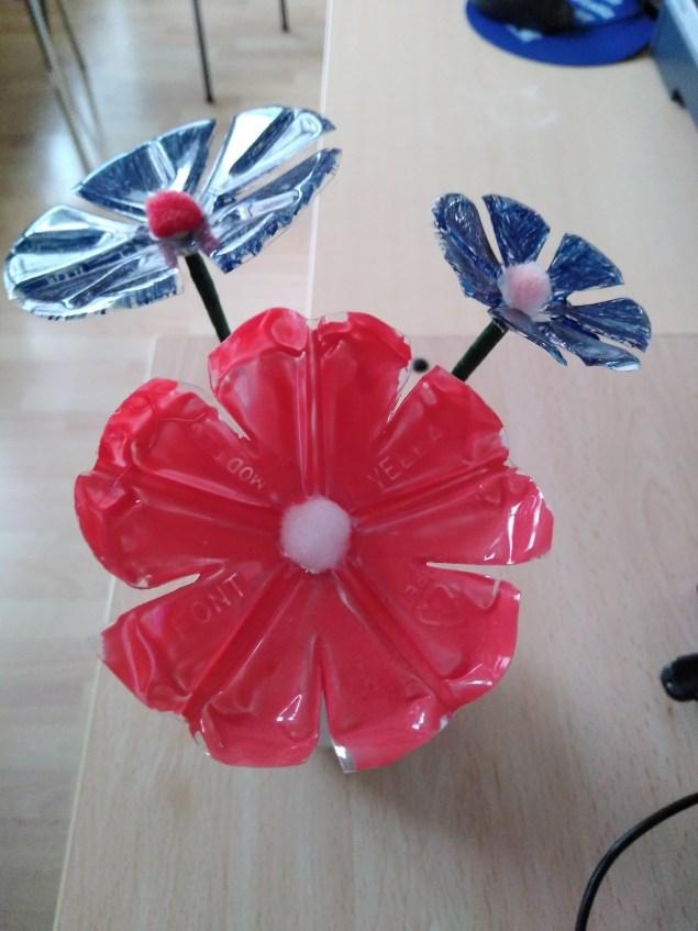 Flores sostenibles con el medio ambiente