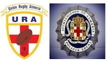 Policías y jugadores de rugby visitaron a nuestros pequeños