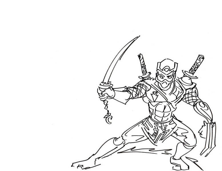 Tree Sword Ninja Coloring Page Download Print Online Coloring Pages For Free Color Nimbus