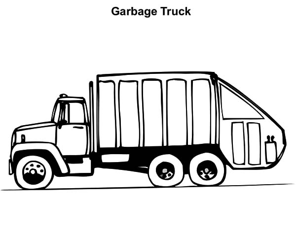 Operating Garbage Truck Coloring Pages Download Print Online Coloring Pages For Free Color Nimbus
