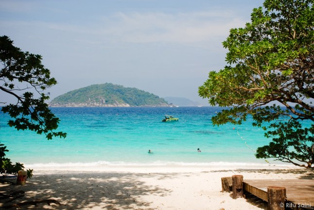 Similan : A first glimpse into the beautifully graded turquoise blue