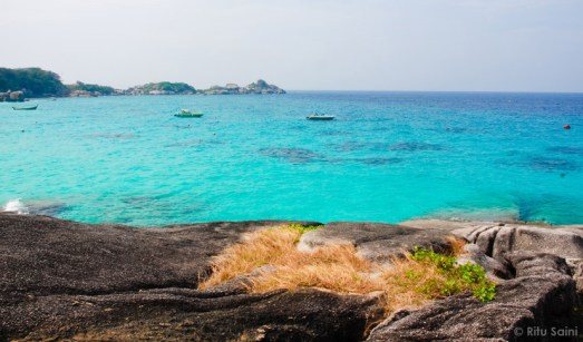 Similan islands : a breath-taking view