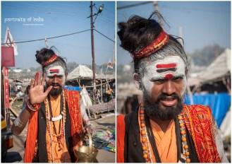 At the fair grounds of Maha Kumbh, Allahabad