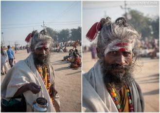 A Sadhu at Maha Kumbh mela, Sangam, Allahabad