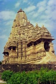 A temple at Khajuraho